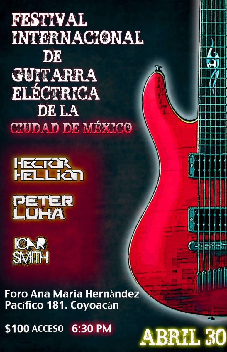 Mexico Tour with Hector Hellion | PETER LUHA | Slovak Guitarist
